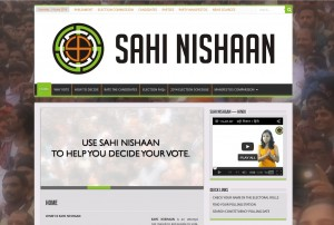 Sahi Nishaan_Website